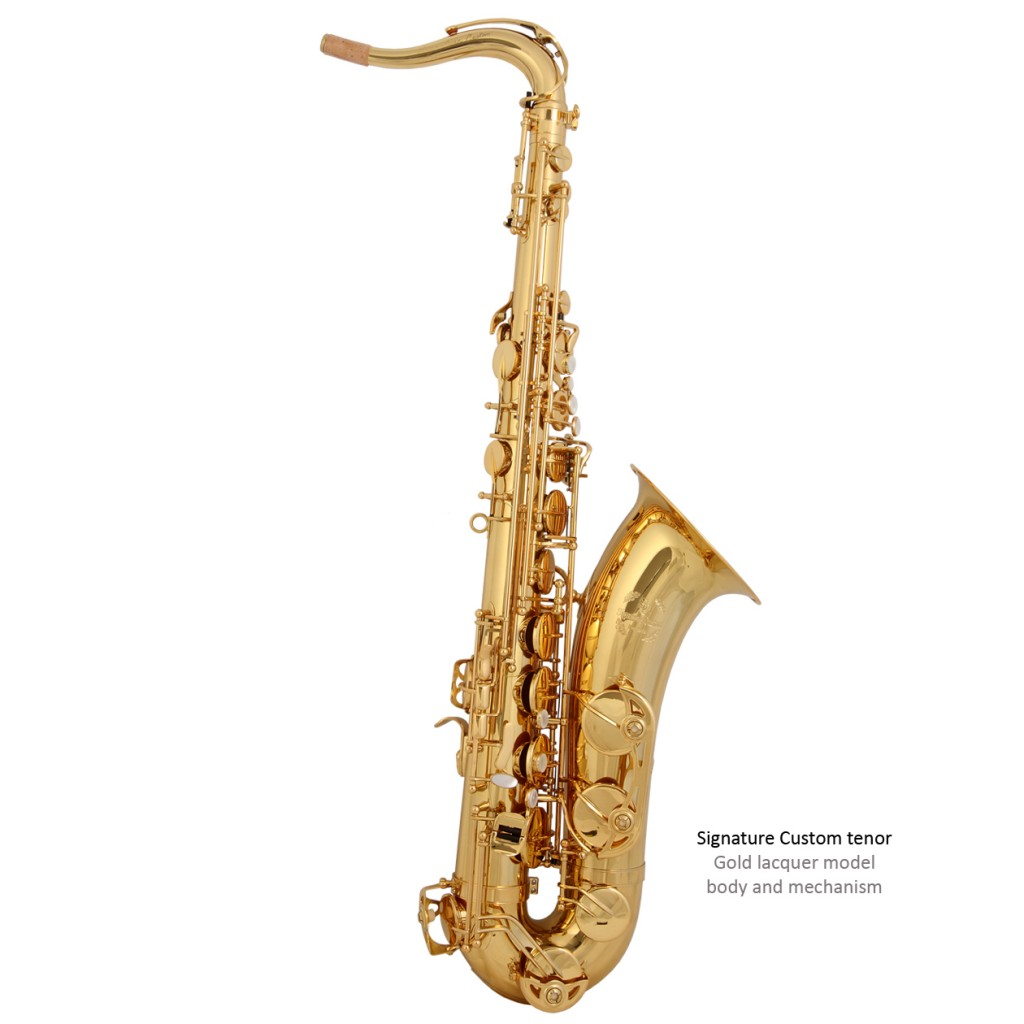 SC Custom tenor - Gold lacquer finish copy