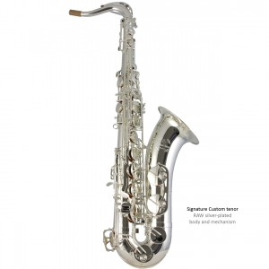 SC Custom tenor - silver-plated