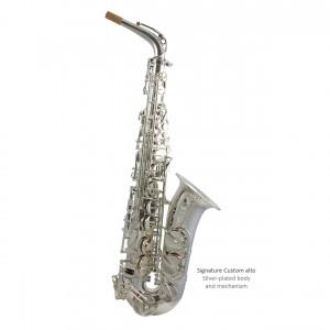 SC custom alto - silver-plated