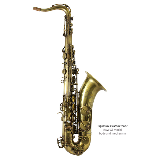 Trevor James Saxophones RAW XS