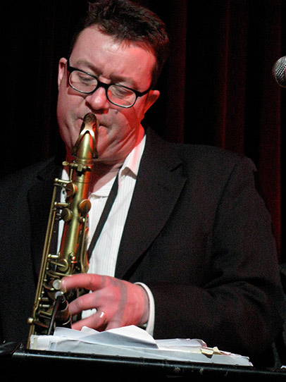 Professional Tenor Saxophonist Phil Veacock