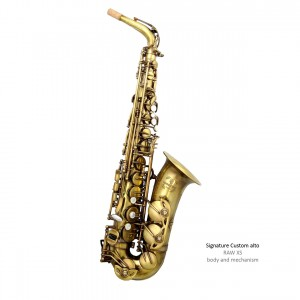 Signature Custom RAW XS Alto Saxophone